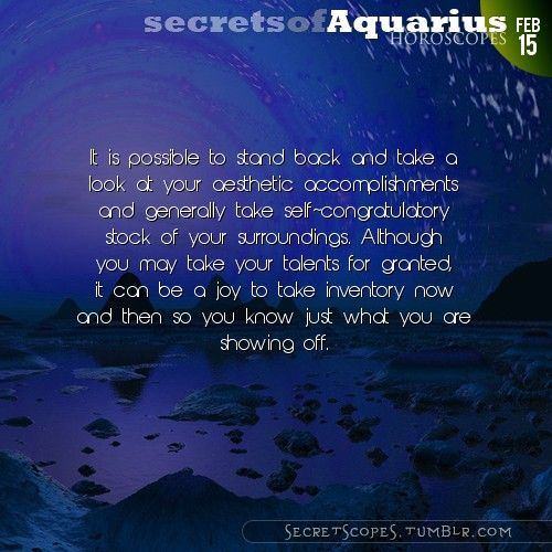 Aquarius Horoscope. We post links to your blog. Contact for info.