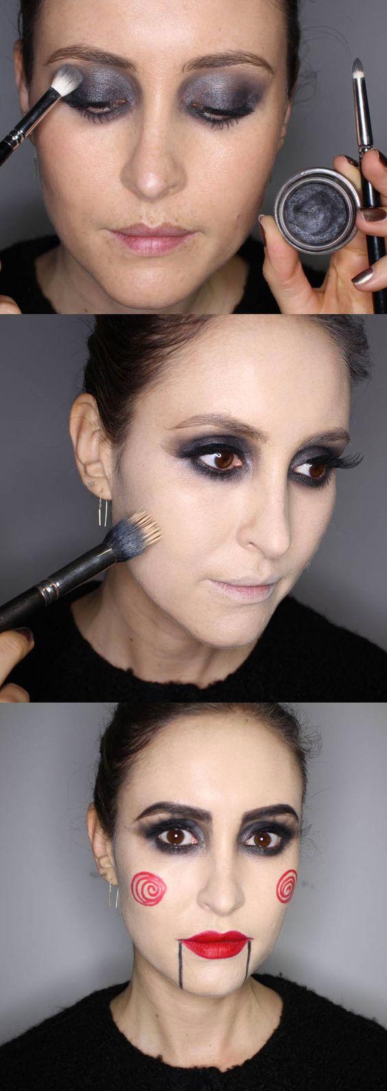 20 Easy Halloween Makeup Tutorials Even Beginners Can Do
