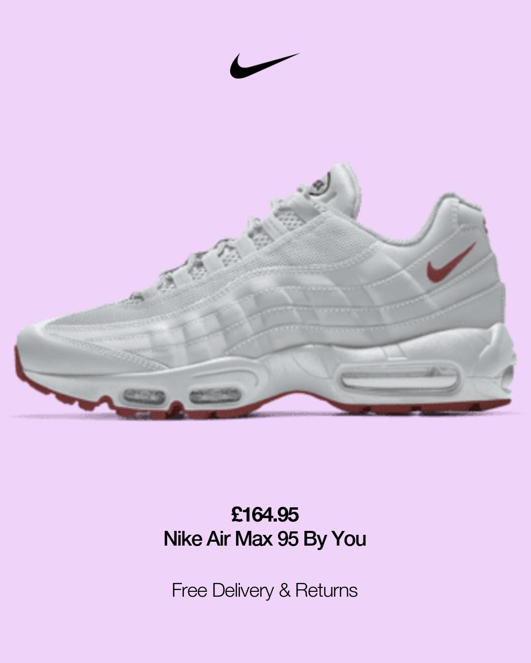 Nike Air Max 95 By You in 2021   Nike air max, Air max, Air max 95
