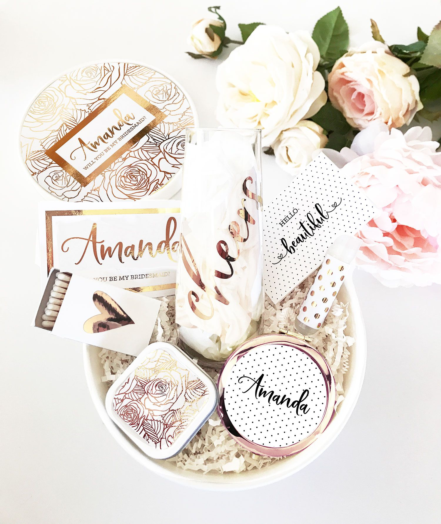 Bridesmaid Gift Box Set Bridesmaid Gift Boxes Bridesmaid Proposal Gifts Will You Be My Bridesmaid Gifts