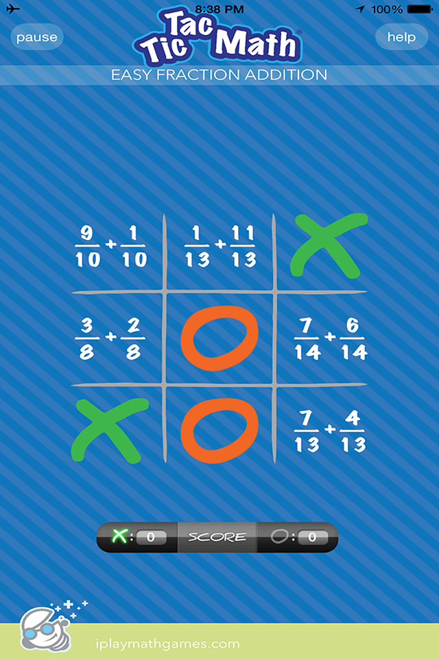 The familiar game of Tic Tac Toe, with an educational twist - fun ...