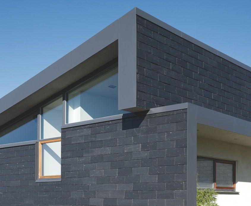Bardage fa ade en ardoise fa ade bois fibro ciment ou m tallique bardage facade ardoise et - Bardage de facade maison ...