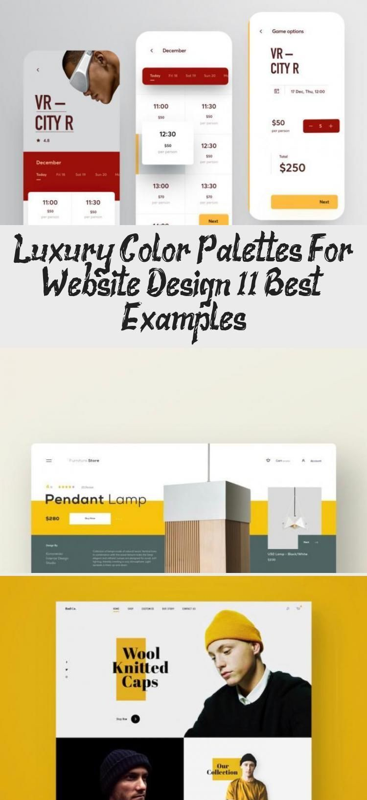 Luxury Color Palettes For Website Design 11 Best Examples Design Color Design Exampl In 2020 What Is Fashion Designing Identity Design Logo Free Web Design