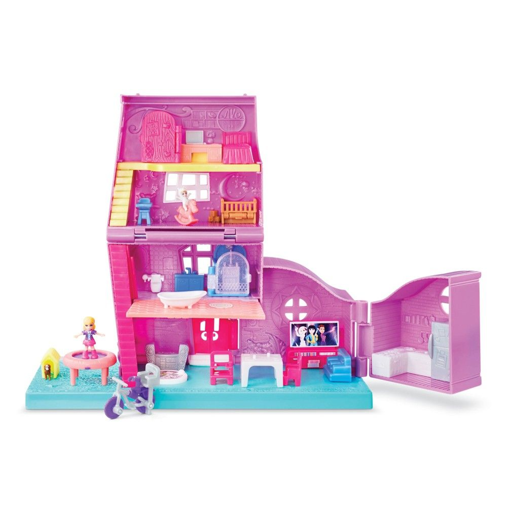 Polly Pocket Pollyville Polly S Pocket House Polly Pocket Playset Surprise Baby