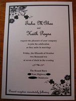 Invitation Wording For Cake And Punch Reception With Images