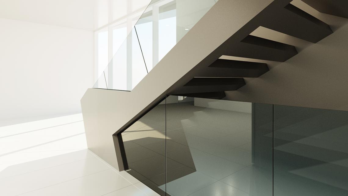 Martens glas design glazen balustrades hoog □ exclusieve woon