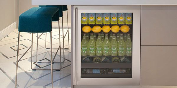 U-Line Beverage Centers keep your beverages cold, down to 34°F cold