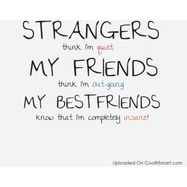 Beautiful Best Friend Quotes, Sayings For BFFs ❤ Liked On Polyvore Featuring Quotes,  Words, Text, Sayings, Phrase And Saying