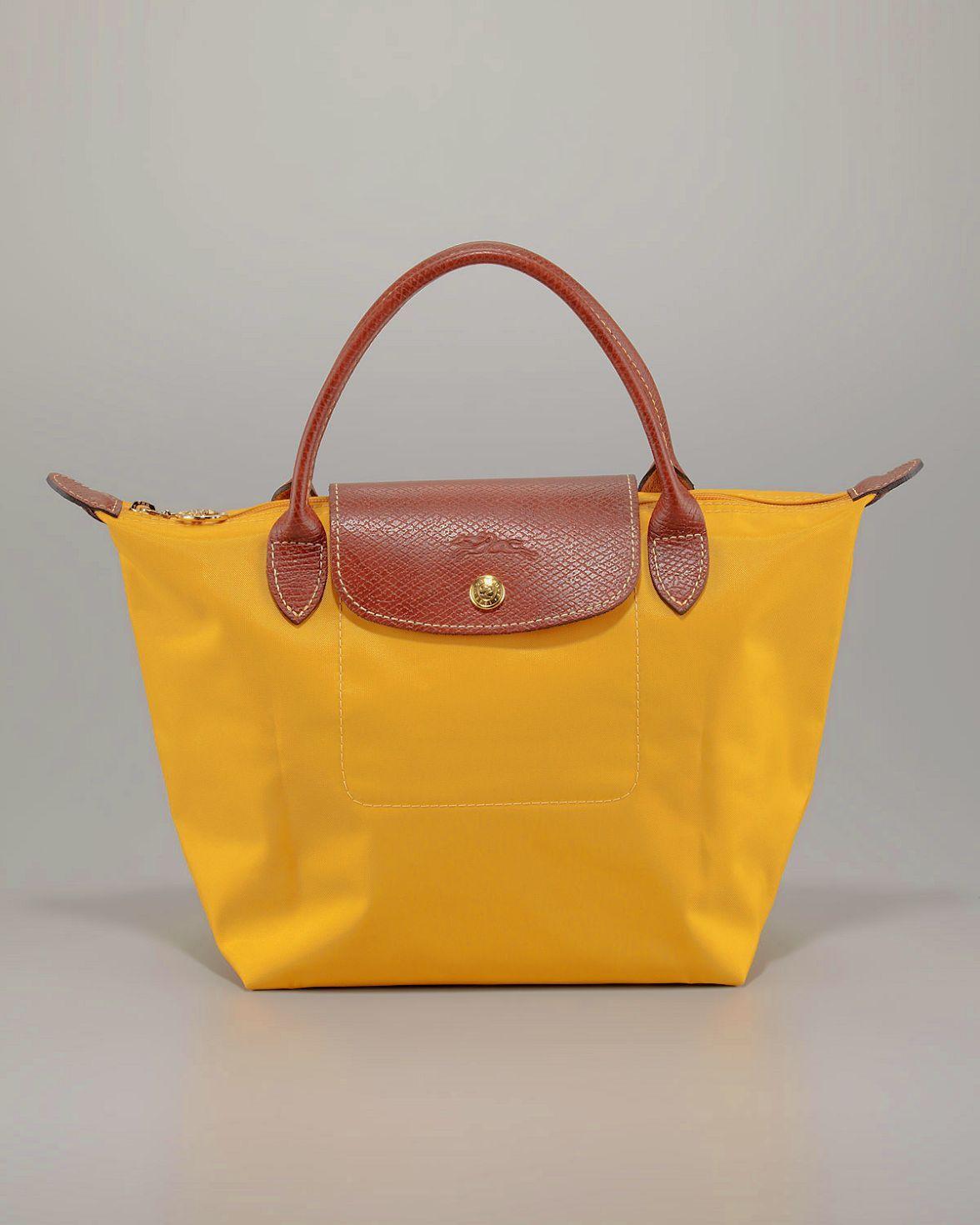 8f77b08aa62 Longchamp Le Pliage Leather Cuir Small Shoulder Bag | Women's street ...