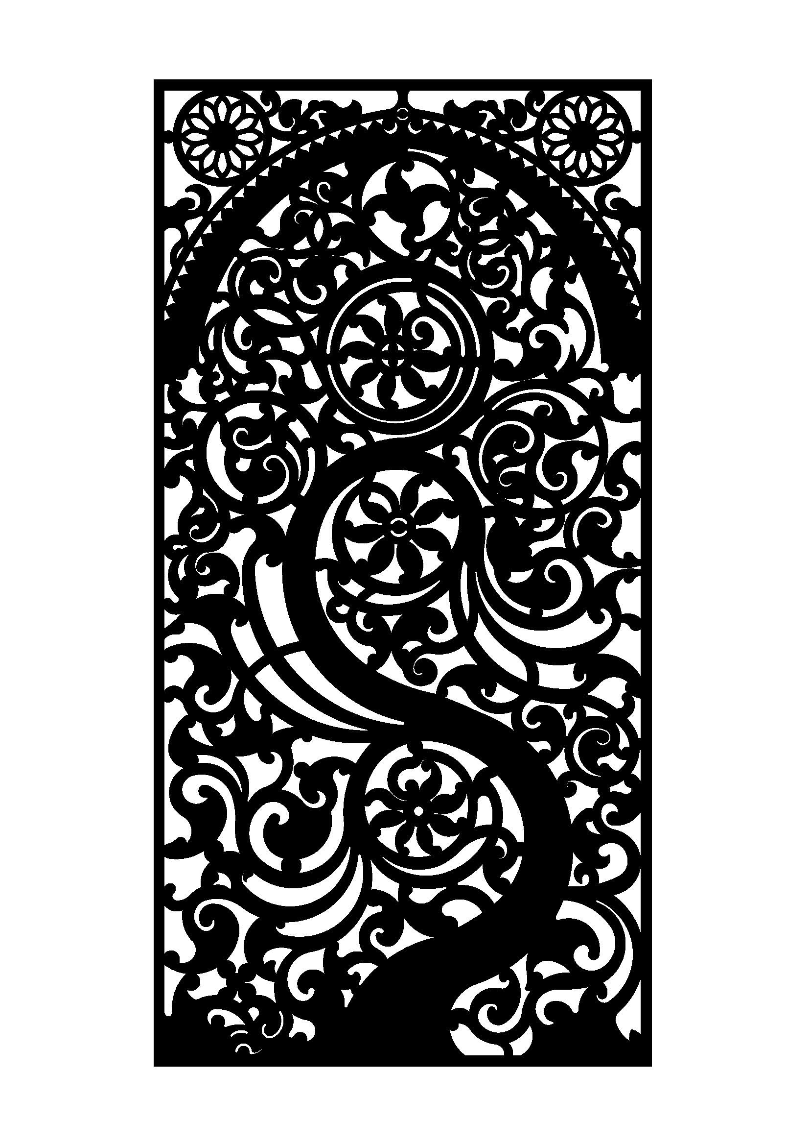 Finco jeddah metal laser cut door 6mm doors pinterest for Door design cnc