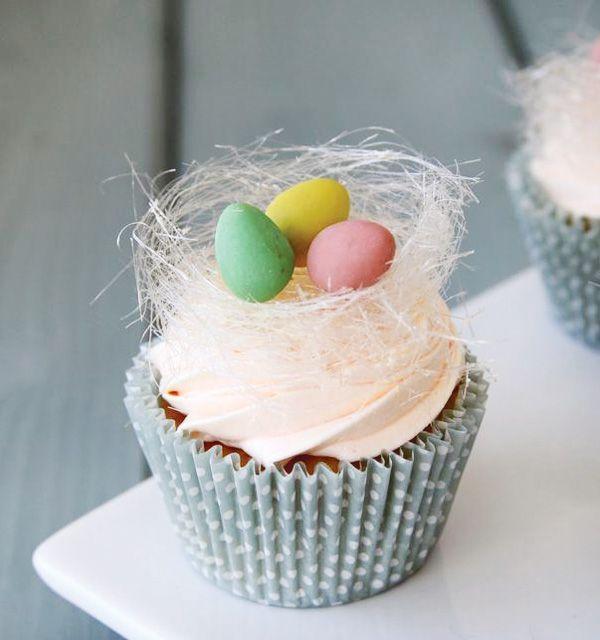 Easter Rose and Orange Cupcake Recipe