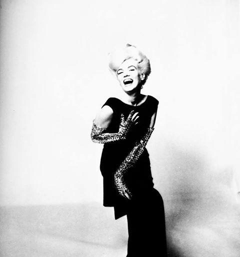 Marilyn Monroe, photographed by Bert Stern 1962.