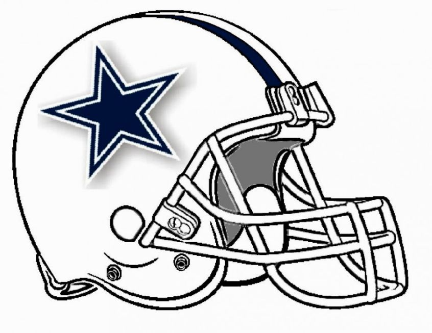 Nfl Helmets Coloring Pages Football Coloring Pages Football Helmets Nfl Logo