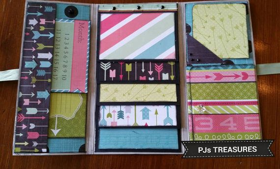 BEST DAY EVER Tri Fold Mini Album Was By ZanyChaos On Etsy