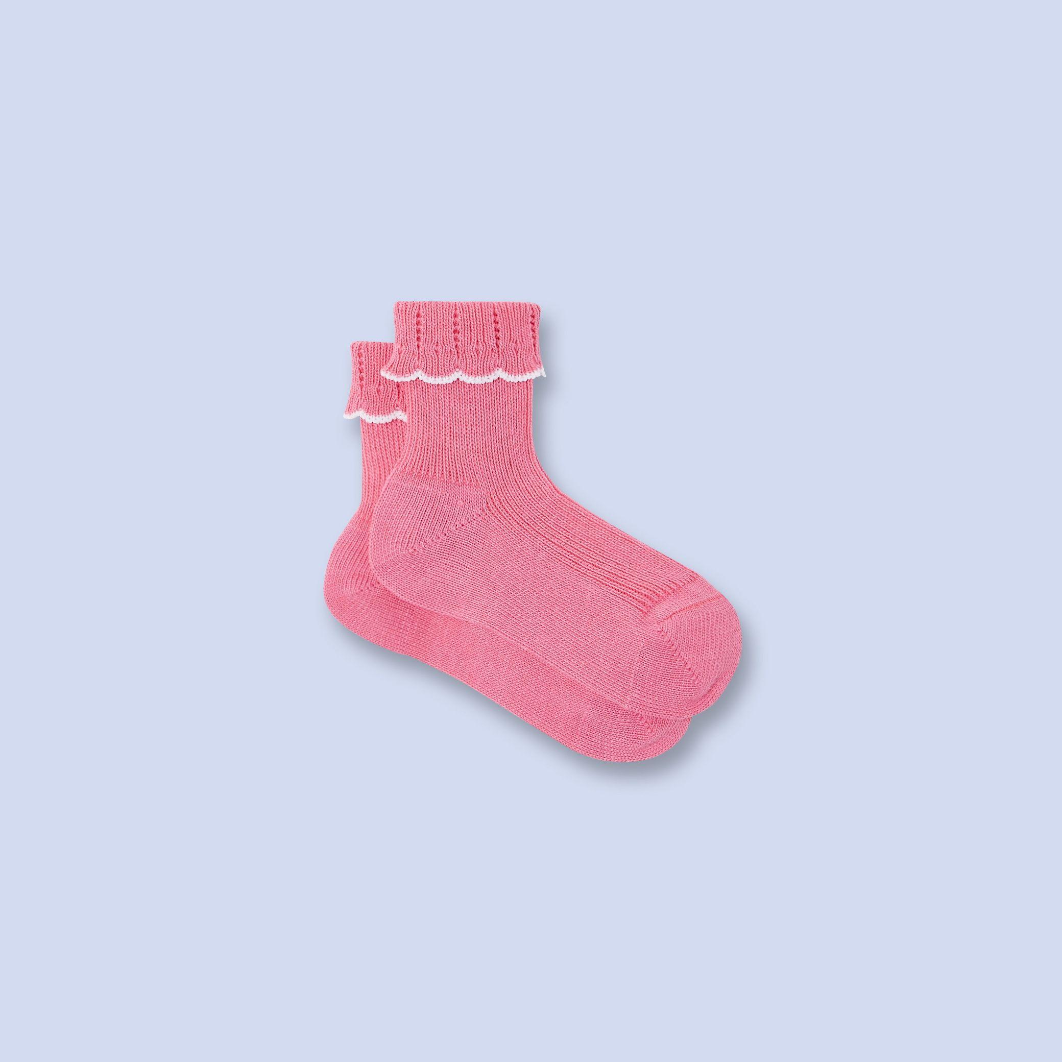 Scalloped socks for baby girl Accessories Pinterest