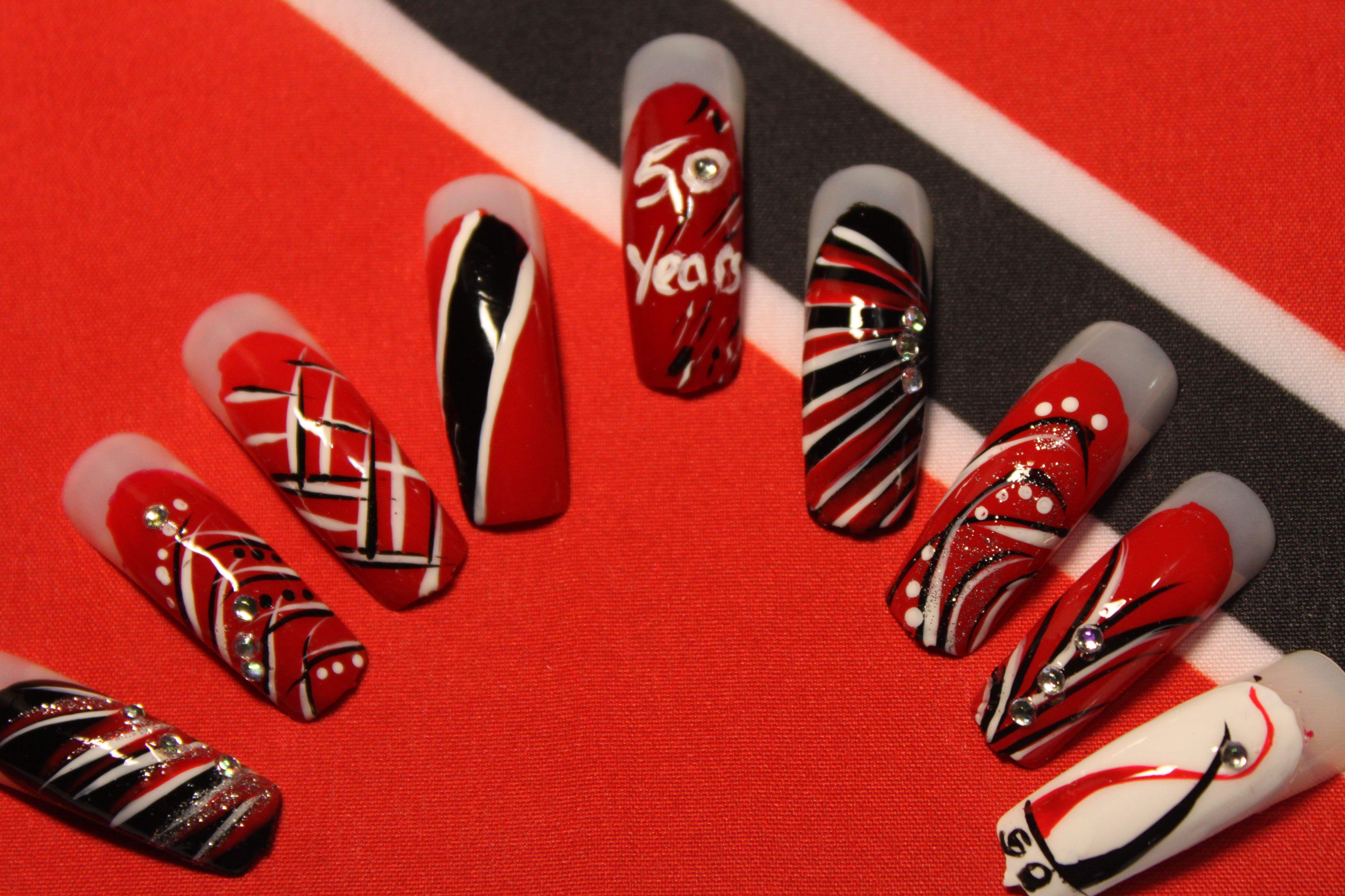 In celebration of Trinidad & Tobago\'s 50th Independence <3 | Nail ...