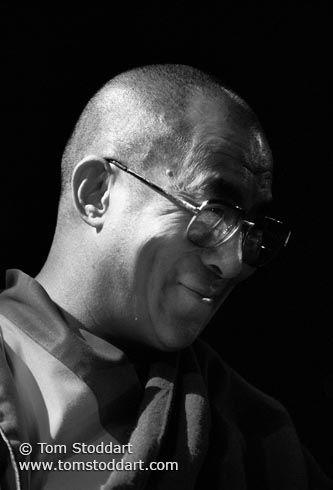 Portrait of His Holiness the Dalai Lama Tom Stoddart ...