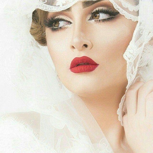 Pin By Summaiyah سمية نصرالدين On انستا In 2020 Fashion Makeup Wedding Hair And Makeup Bridal Makeup