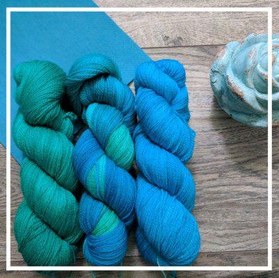 Merino-Lace 500 handgefärbt bei oceanandyarn.de