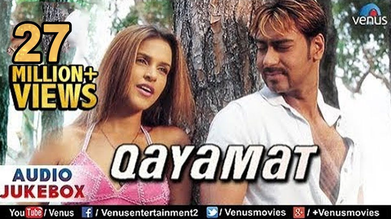 Qayamat Bollywood Full Songs Ajay Devgan Suniel Shetty Neha Dhupia Jukebox Romantic Hits Youtube Songs Jukebox Jukeboxes