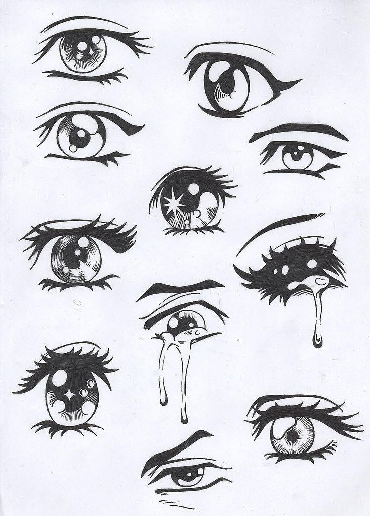Pour commencer un manga il faut que vous fassiez la t te puis selon vous les yeux l 39 expression - Dessin triste ...