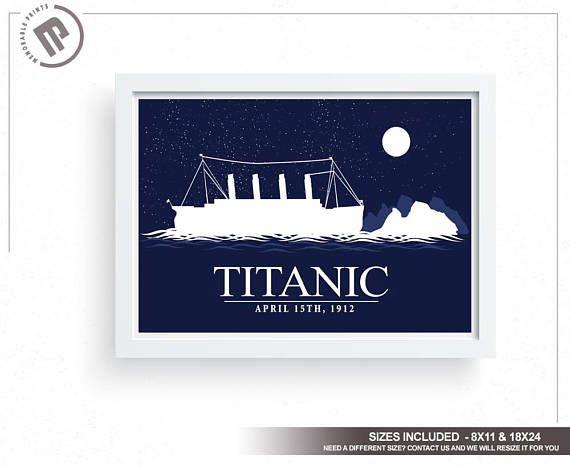 Titanic Wall Art large wall art wall decor wall art | Posters ...