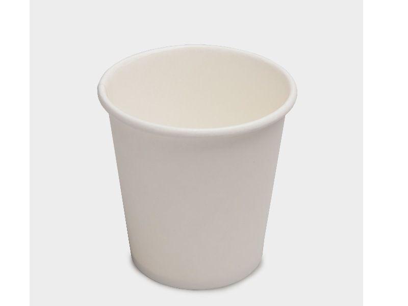 Kaffeebecher weiß 200 ml - 100 Stück