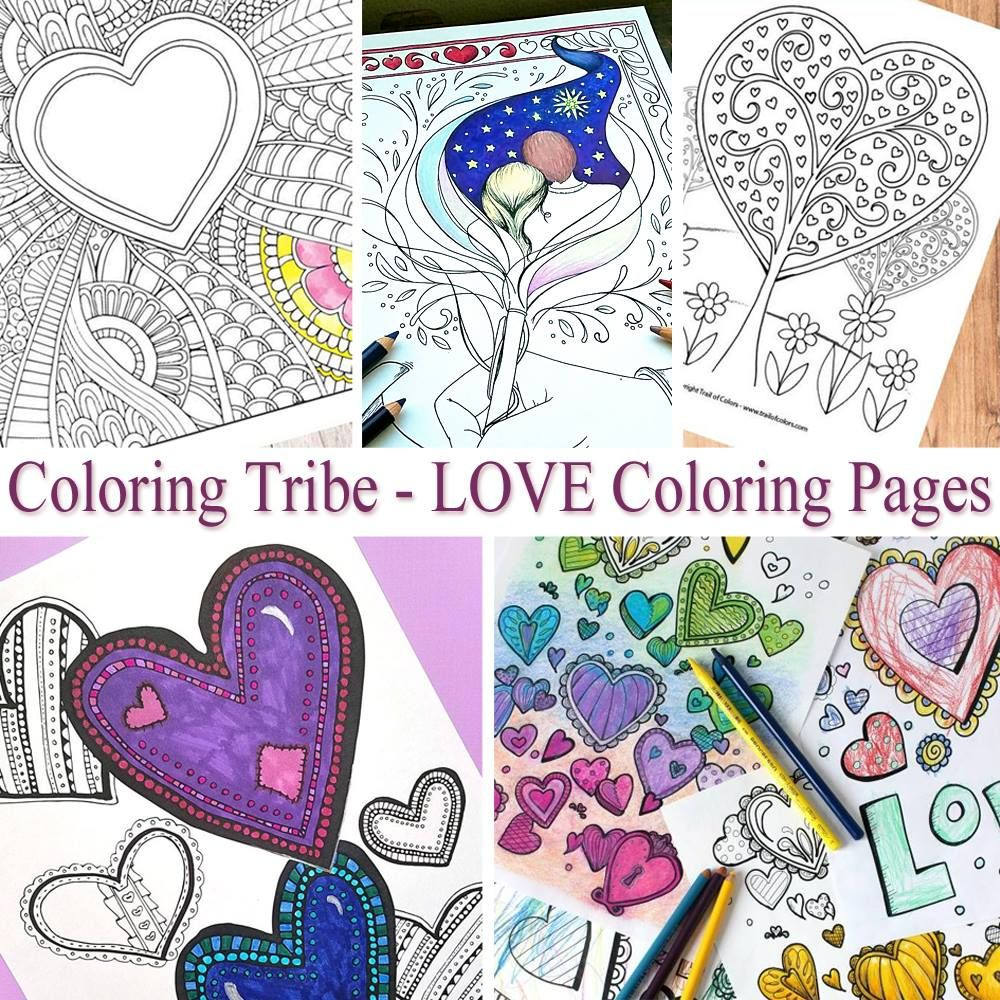 With All Thy Heart Coloring Pages - Samples from \