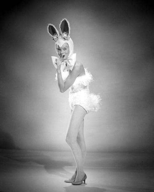 stage fright bunny