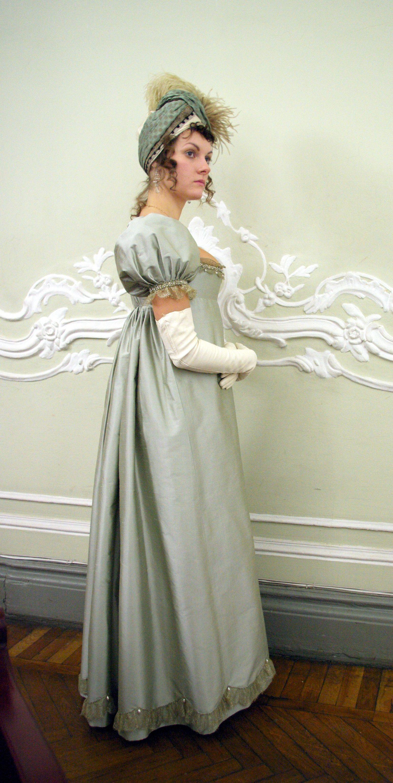 regency bal gown | needlework | Pinterest | Regency, Gowns and Jane ...