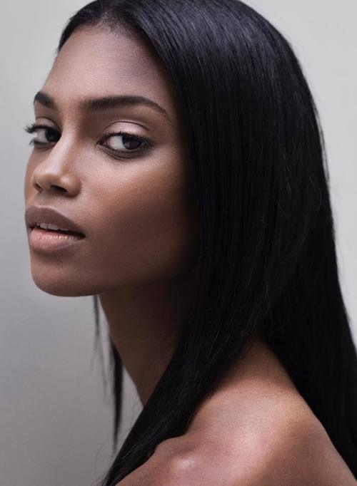 Elen Santiago  Facial Beauty  Beautiful Black Women -1154