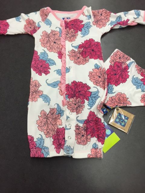 Kickee Pants Floral Gown | Kickee Pants | Pinterest