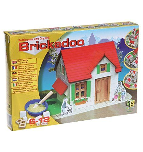 I had a kit in the 70's where you MADE your own bricks! I don't know the brand and can't find it anywhere.........Brickadoo Construction Building House Brick Cement Wood K... https://www.amazon.co.uk/dp/B00P1TR8DM/ref=cm_sw_r_pi_dp_x_pbg9xbJAKPXA4