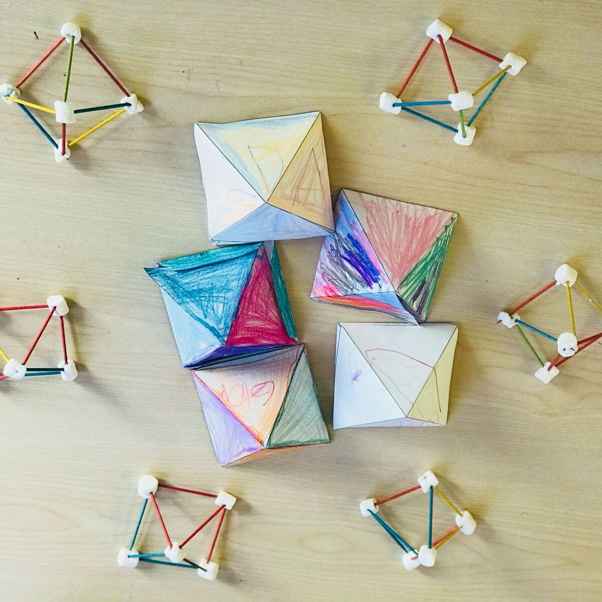 3d Shapes Geometry We Were Learning About Building