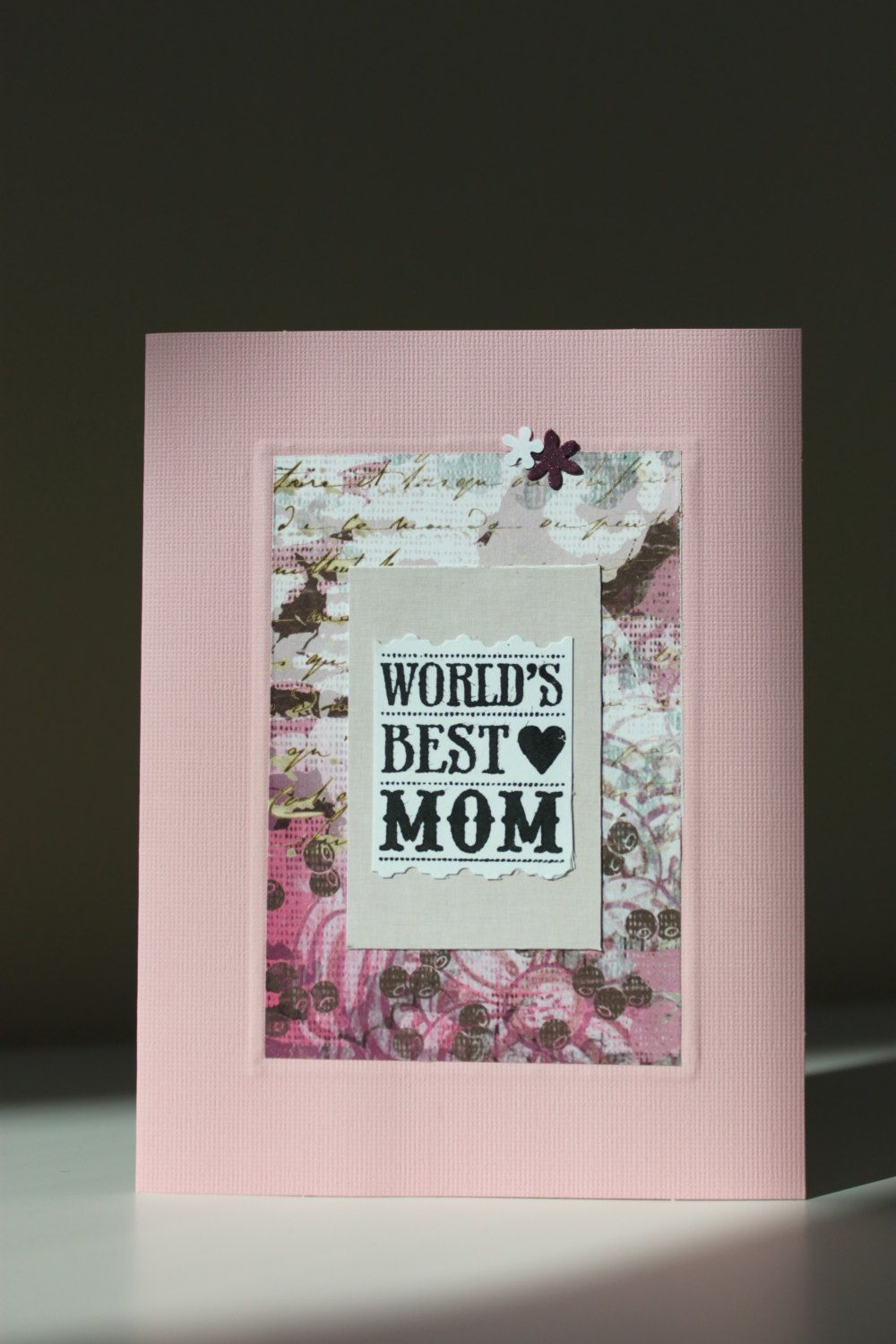 Handmade Mother's Day Greeting Card by GIFTnGIVING on Etsy