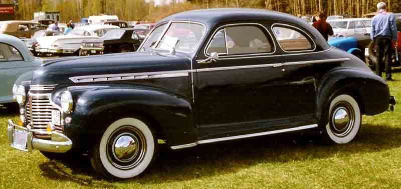 1941 Chevrolet Special De Luxe Business Coupe | 41 Chevy coupe ...