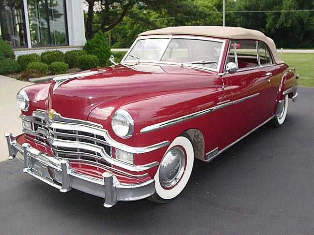 1949 Chrysler Windsor Convertible Image 1 Of 26 With Images