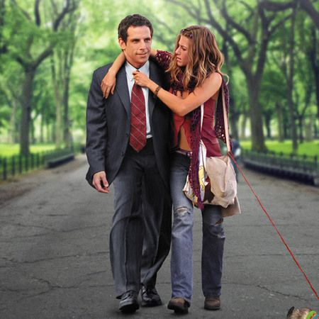 jennifer aniston great clothes in along came polly