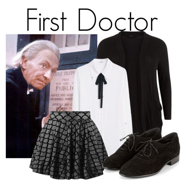 """""""the first doctor"""" by katwhisky ❤ liked on Polyvore featuring MANGO and doctorwho"""