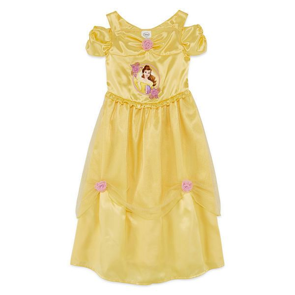 Disney Beauty And The Beast Belle Nightgown for Little Girls