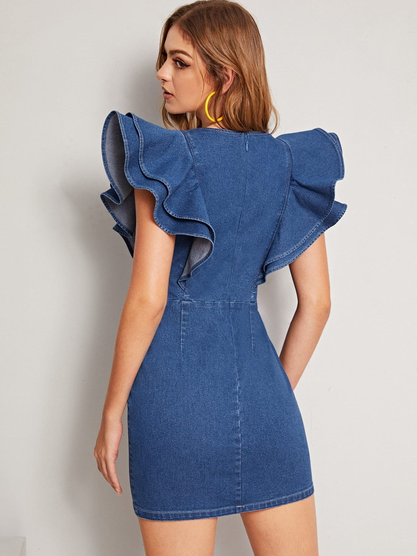 Pin On Denim Dresses [ 1785 x 1340 Pixel ]