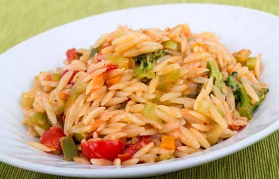 This classic Italian dish is a perfect addition to your dinner table. Mrs. Dash® Italian Medley Seasoning Blend adds bold flavor to rice and veggies.