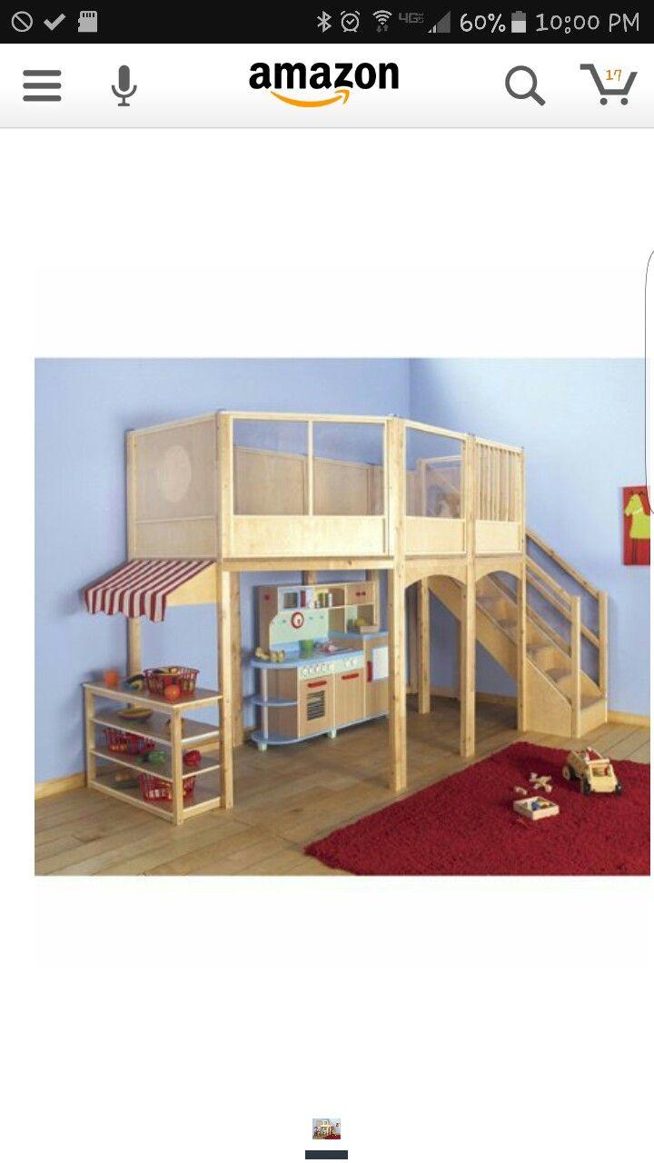 Loft bed railing ideas  Pin by Ingrid Rohrbach on Kid play kitchen  Pinterest  Kitchens