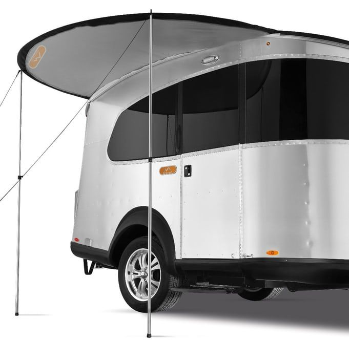 Airstream Compacts Its Sleek Aluminum Construction Into Basecamp