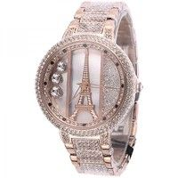 Luxury Diamond-studded Iron Tower Ladies Watch i must have !!!