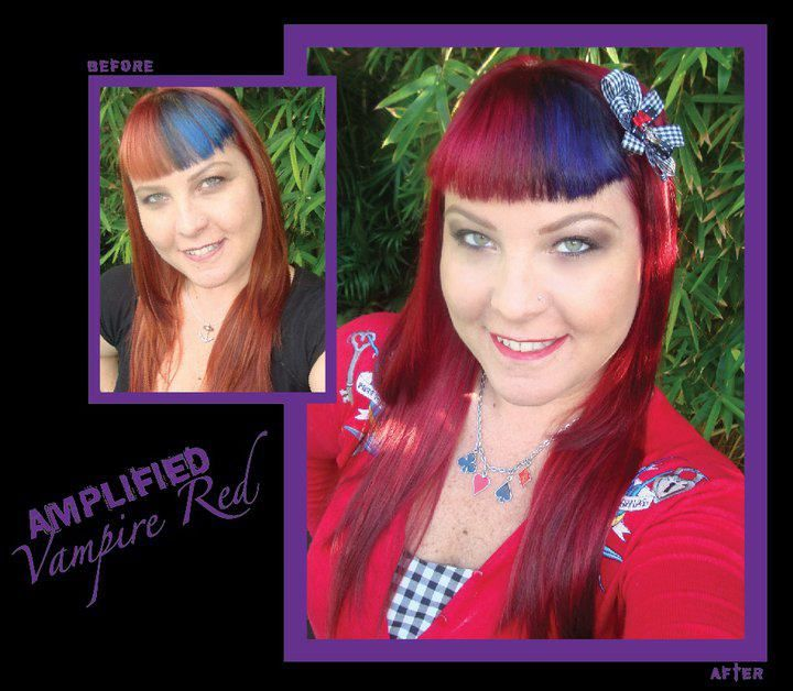 Anonamiss Beauty Emporium Semi Permanent Hair Color Permanent Hair Color Manic Panic Vampire Red