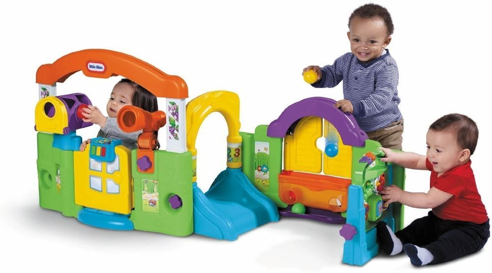 New Indoor Outdoor Activity Garden Mailbox Interactive Learning Toy Baby Playset #LittleTikes