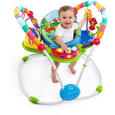 Xiangtat Baby Neighborhood Friends Activity Jumper with Lights and Melodies