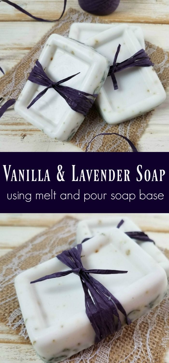 Vanilla & Lavender Soap Recipe Using Melt and Pour