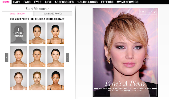 6 Virtual Makeover Sites | Virtual makeover and Makeup